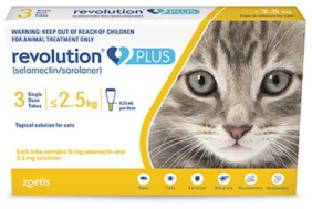 Revolution PLUS Small Cat 1.25-2.5 kg