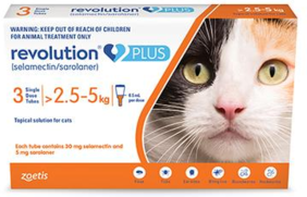 Revolution PLUS Medium Cat 2.5-5 kg