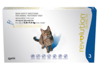 Revolution Cat 3-pack