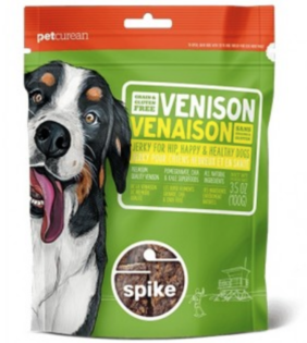 Spike Venison Jerky Treats 113g