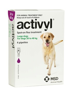 Activyl Dog Large 20-40kg 4-pack