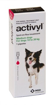 Activyl Dog Medium 10-20kg Single