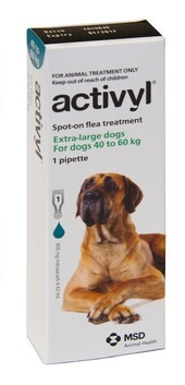 Activyl Dog X-Large 40-60kg Single