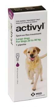 Activyl Dog Large 20-40kg Single