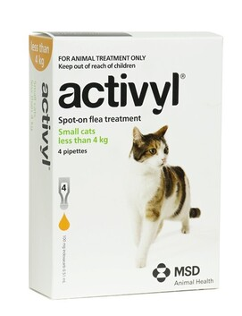 Activyl Cat Small <4kg 4-pack