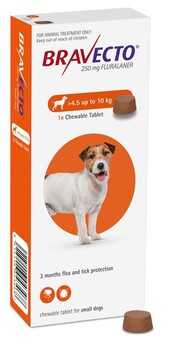 Bravecto Chewable Small Dog 4.5-10 kg