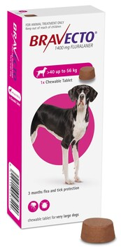 Bravecto Chewable X-Large Dog 40-56 kg
